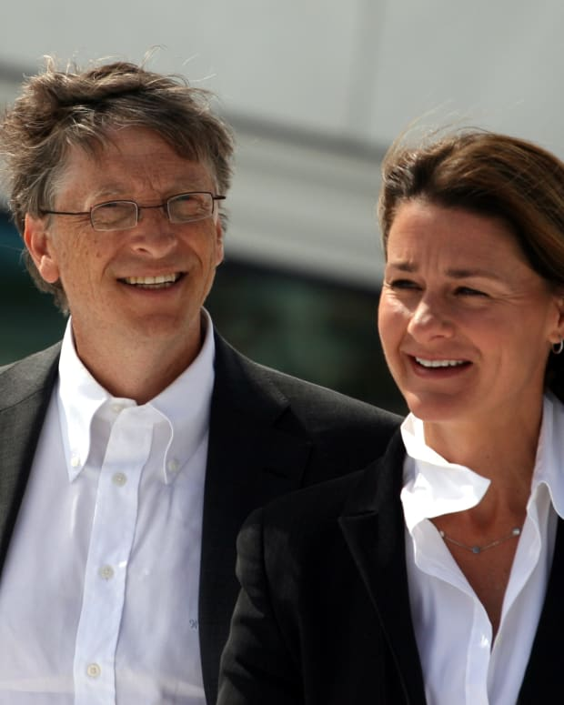 BIll and Melinda Gates (photo by Kjetil Ree)