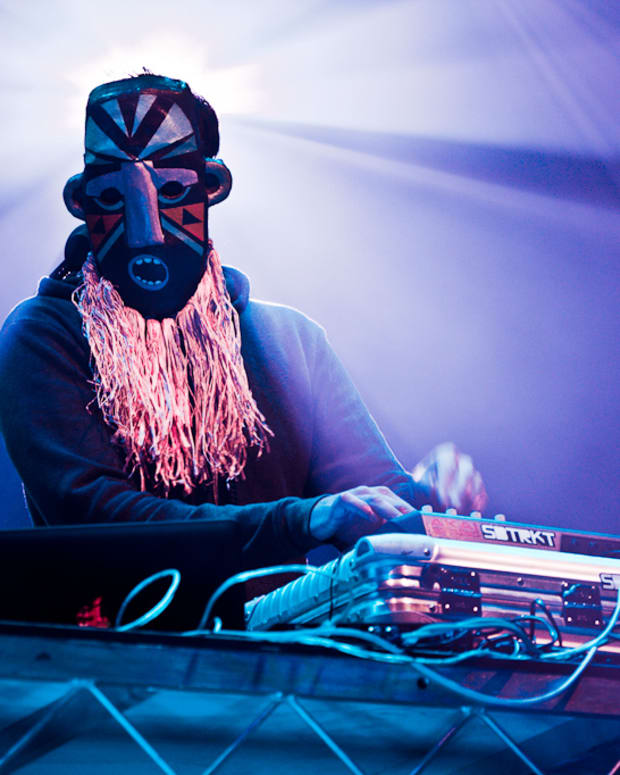 SBTRKT (photo by Karatyshov)