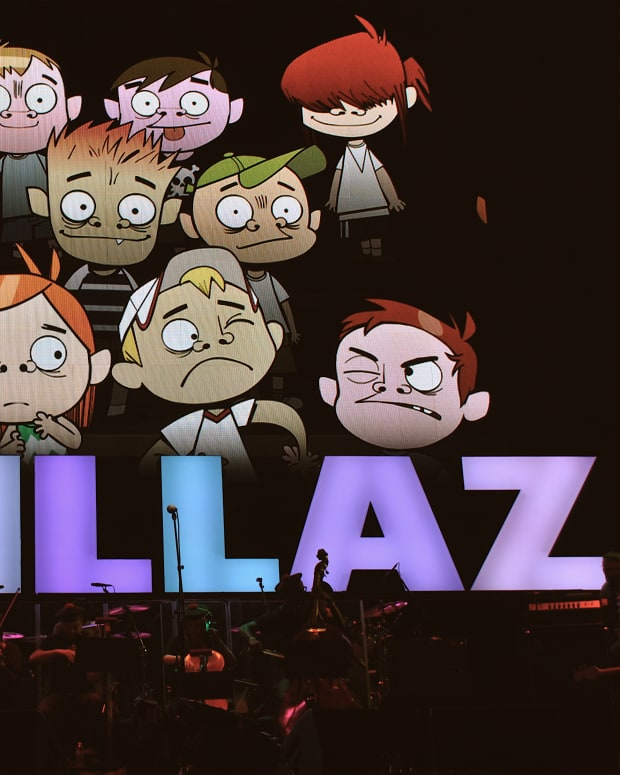 Gorillaz (photo by Ian T. McFarland)