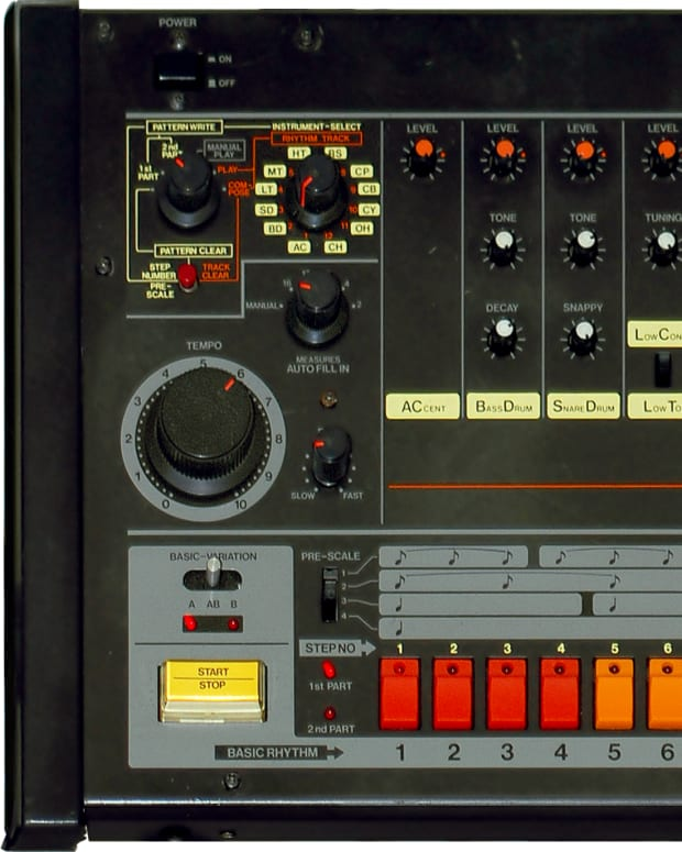 Roland TR-808 (photo by Brandon Daniel)