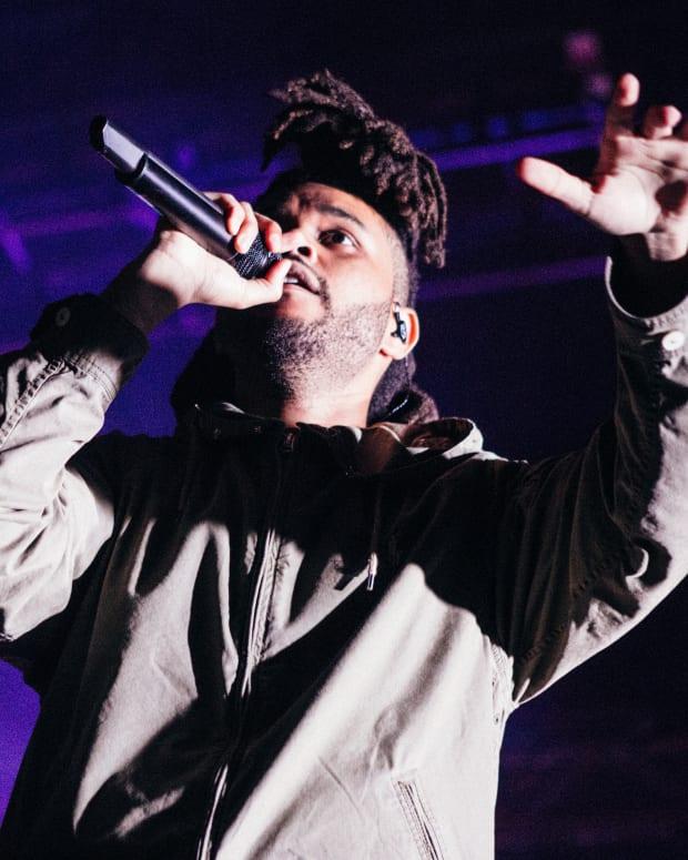 The Weeknd (photo by Kayla Johnson)