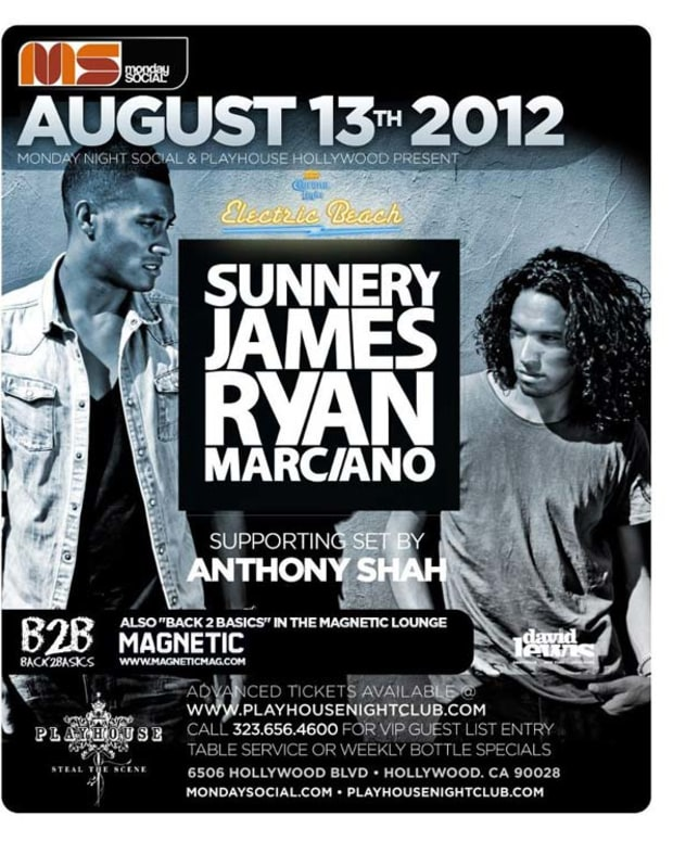 sunnery-james-flyer