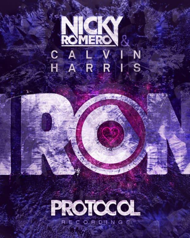 "Stream: Nicky Romero & Calvin Harris ""Iron""—Over 50K Plays In 24 Hours"