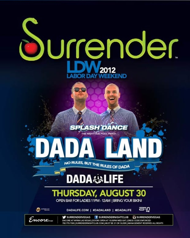 Club Flyers: Sewer Art or EDM Cultural Cipher? Dada Life, Labor Day Weekend at Encore at Wynn Las Vegas