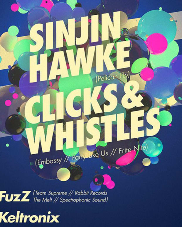 IHC Presents: Sinjin Hawke, Clicks And Whistles, Fuzz, Keltronix + Win Tickets!