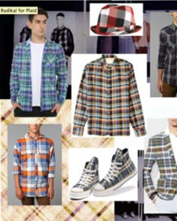 Magnetic Style: Mad For Plaid