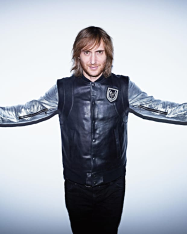 David Guetta Wins Best Electronic Act At The 2012 MTV European Music Awards