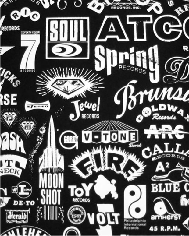 Want: Rarebyrd Record Label Poster