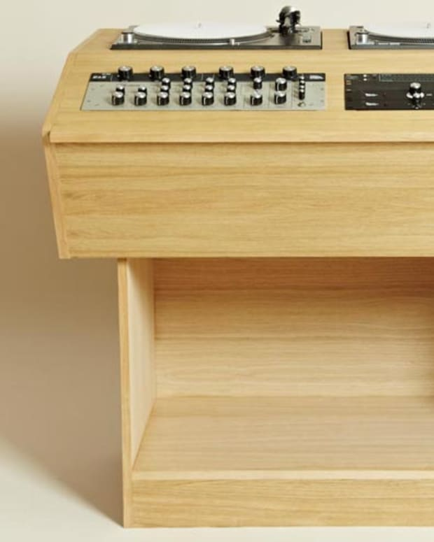 Xmas Want: Bad Habits Made-To-Order DJ Console