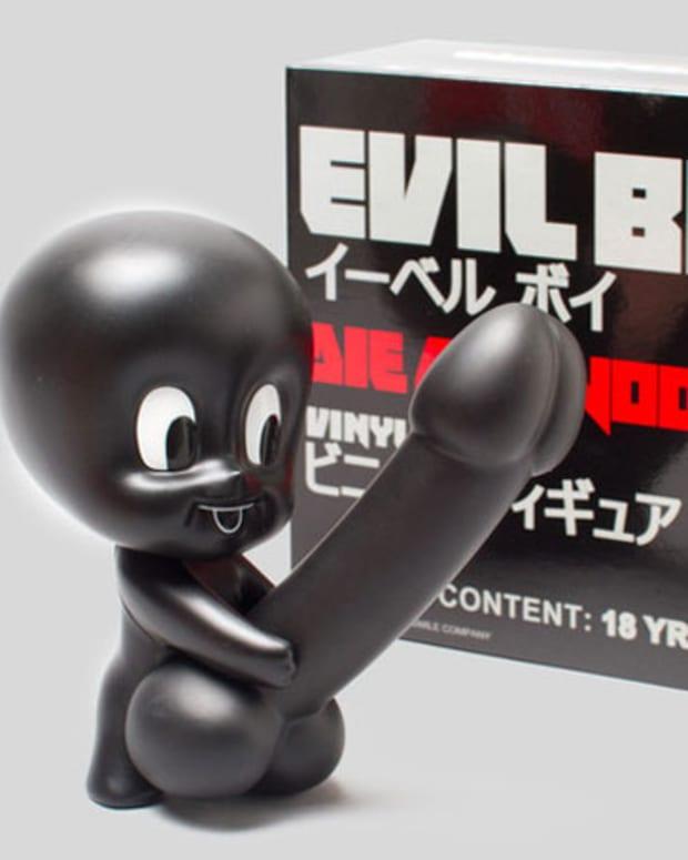 """Xmas Want: Die Antwoord """"Evil Boy"""" Hot Love Vinyl Toys"""