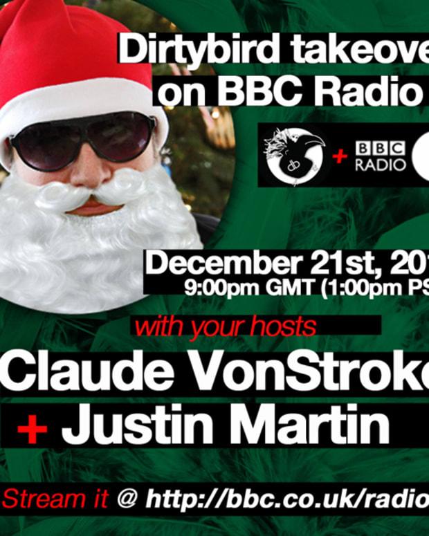 Dirtybird BBC Radio 1 Xmas Takeover—This Friday