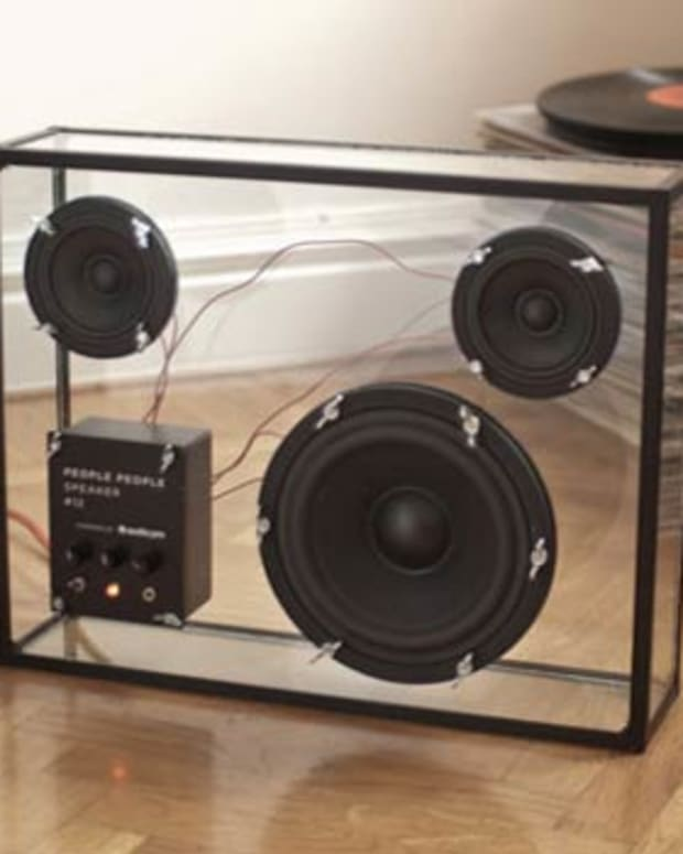 Kickstart This: Transparent Speaker by People People
