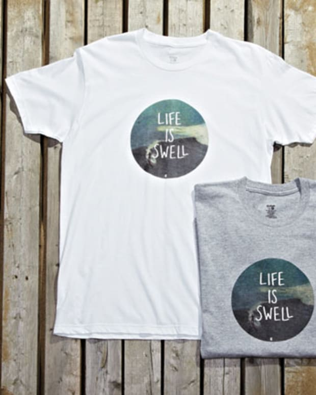 Want: Life Is Swell T Shirt by Eidon Surf
