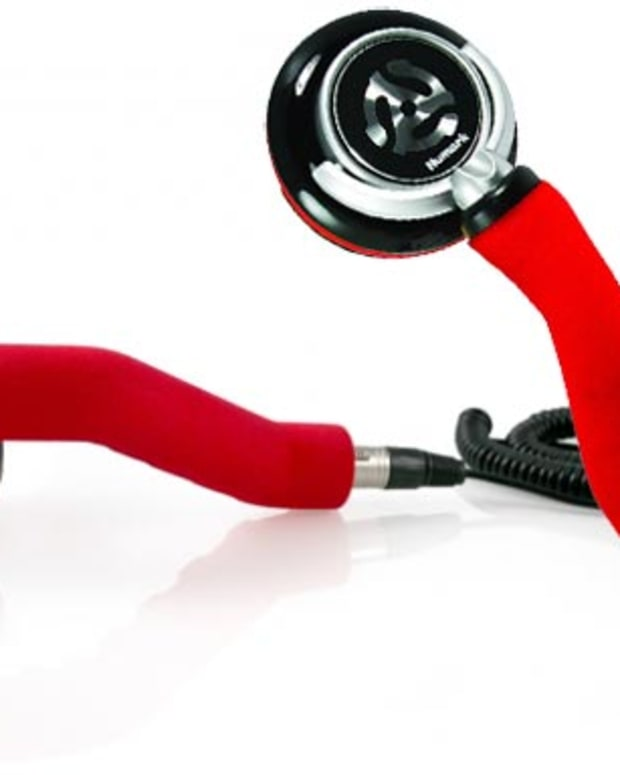 Want: Redphone Stick-Style Headphone by Numark