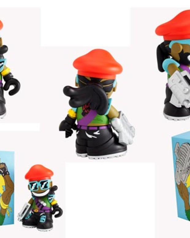 Want: Major Lazer Figure by Kidrobot