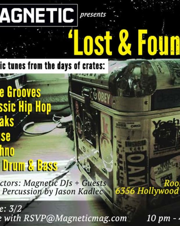 Los Angeles Event: Lost & Found—Classic Tunes From The Days Of Crates