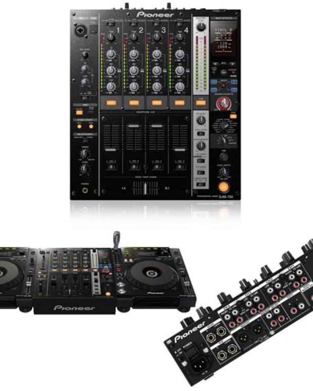Pioneer Mixer DJM-750