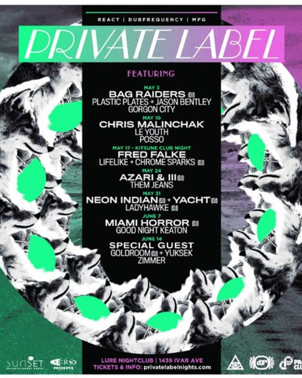 Ticket Giveaway: React, Dubfrequency and MFG Presents Private Label