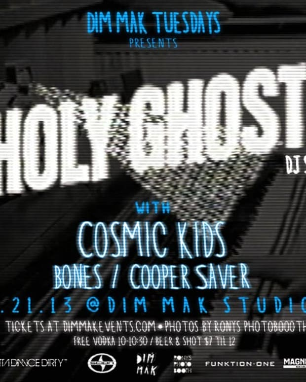 Ticket Giveaway: Holy! Ghost at Dim Mak Studios