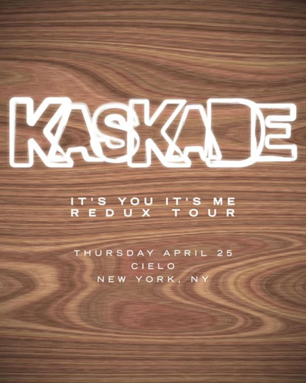 "Kaskade's ""It's You, It's Me"" Redux Tour to invade NYC's Cielo? Most Definitely."