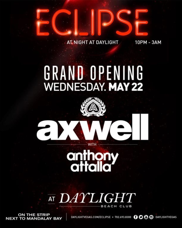 Ticket Giveaway: Win Tickets to Axwell For The Grand Opening of Eclipse, The Nighttime Pool Party in Las Vegas