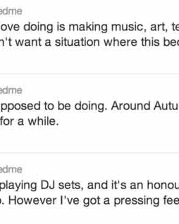 EDM News: Feed Me to Stop DJing This Fall