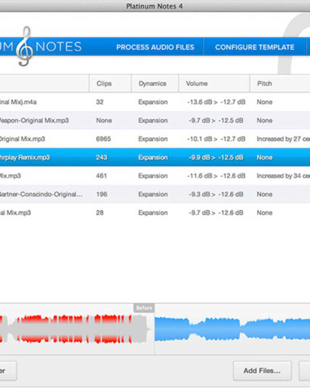 EDM Gear: Platinum Notes 4 Update, Make Your MP3's Sound Better