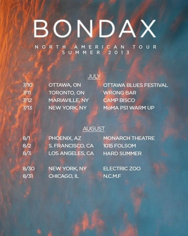 EDM News - Bondax Announces Summer North American Tour