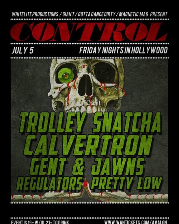EDM Event: Trolley Snatcha, Calvertron, Gent & Jawns, Regulators And Pretty Low At Control Fridays; Free EDM Downloads
