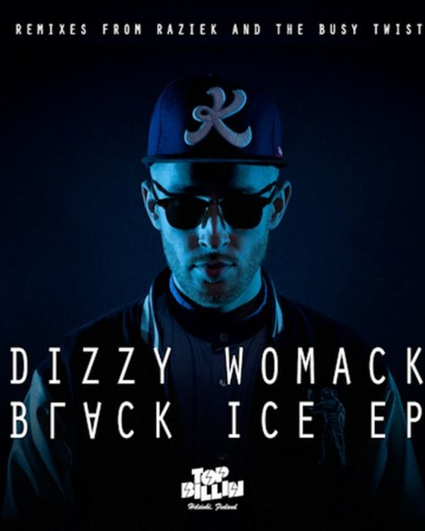 EDM News: Dizzy Womack Switches Up His Old DJ Dizzy Sound; Releases Black Ice EP- File Under Bass Heavy Filthy Club House