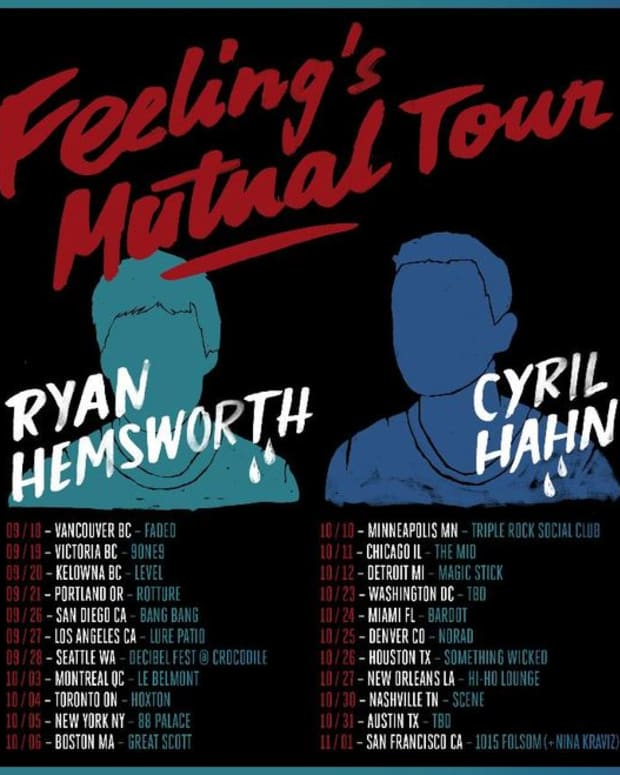 "EDM News: New Electronic Music On Cyril Hahn's New EP ""Perfect Form""; Announces Tour With Ryan Hemsworth"