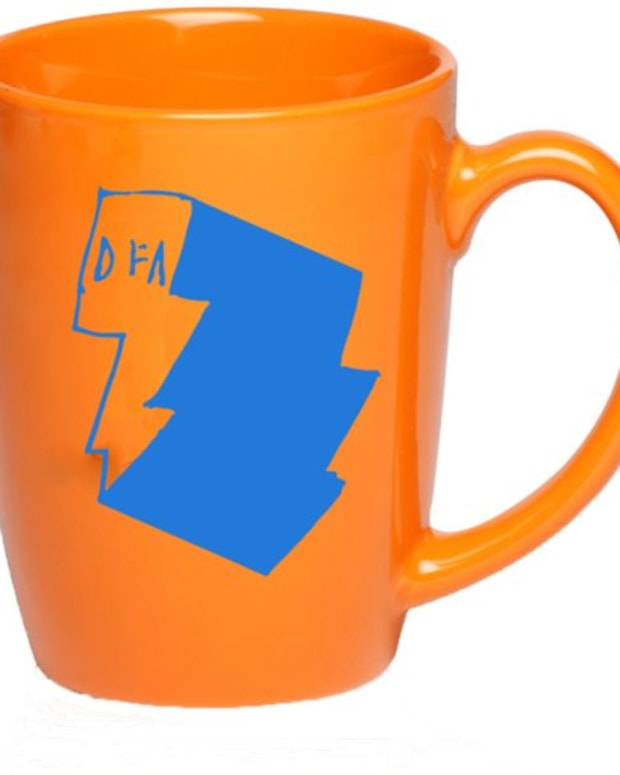 EDM Culture: DFA Coffee Mug- Key To Recovery After A Late Night Disco Set