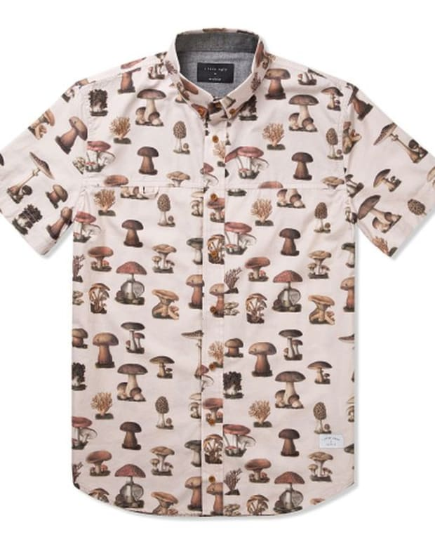 EDM Culture: I Love Ugly's Frankie Mushroom Short Sleeve Shirt