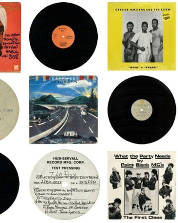 "EDM Culture: Through Aug. 10th- Afrika Bambaataa ""Master of Records"" Vinyl Archive"