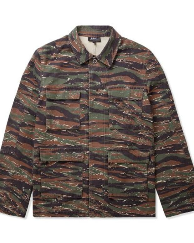 EDM Culture: A.P.C. Khaki 70s Army Jacket