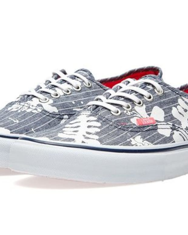 "EDM Culture: Vans Authentic LX ""Aloha Chambray"""