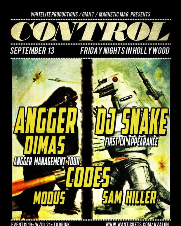 EDM Event: Control LA With DJ Snake, Angger Dimas And Codes; Plus- Magnetic DJs And Special Discounted Entry