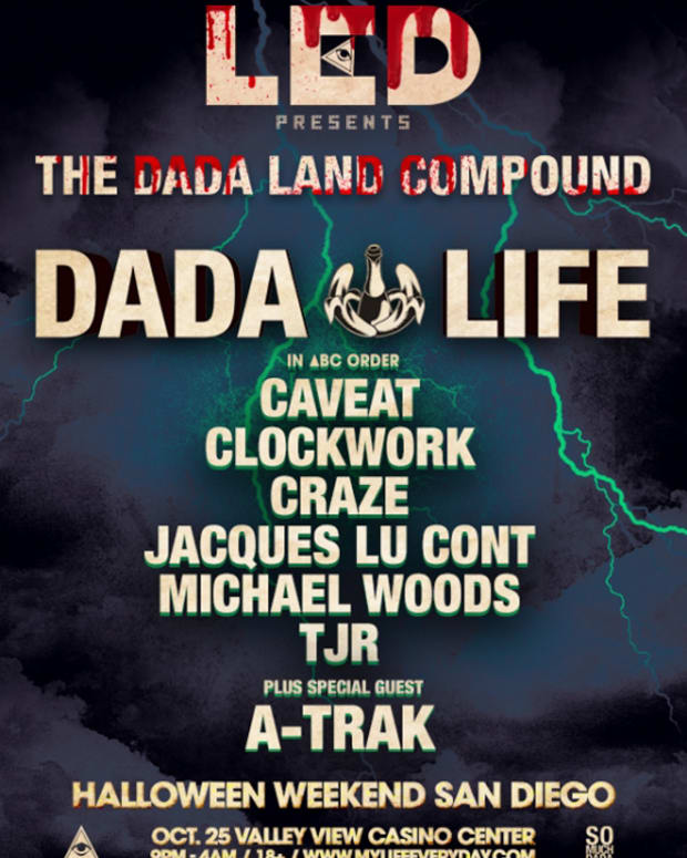 EDM News: LED Unveils Dada Compound Halloween Weekend in San Diego