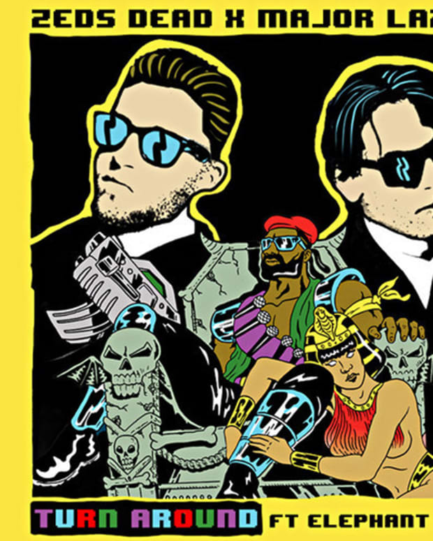 "EDM Download: Zeds Dead X Major Lazer ""Turn Around""; File Under 'Banger For Sure'"