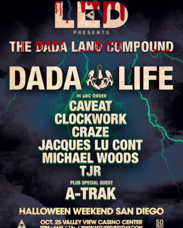 EDM Culture: Banana Bombing In the Name of The Dada - LED & Dada Life Super Ticket Giveaway Including Meet & Greet Package