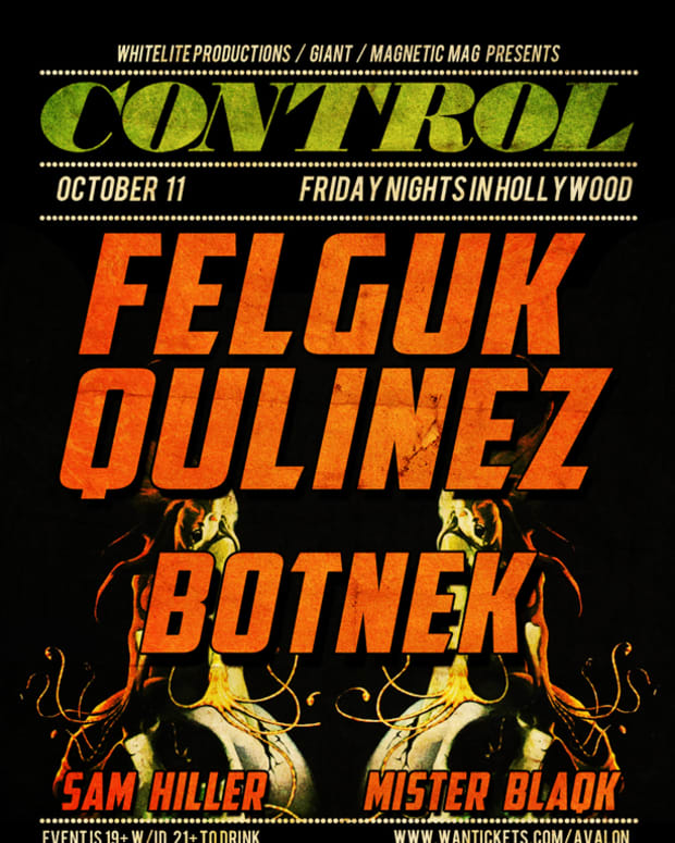 EDM Culture: Control Fridays With Felguk, Qulinez, Botnek, Sam Hiller And Mister Blaqk