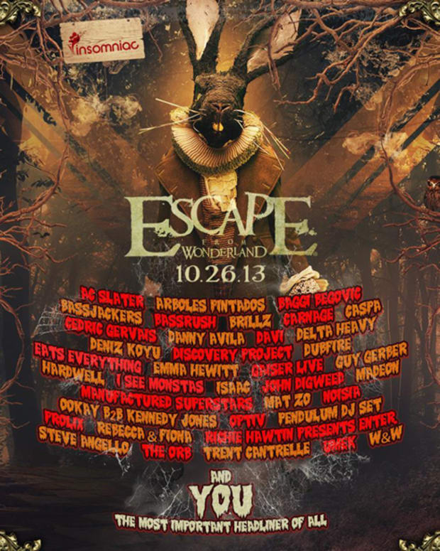 EDM News: Insomniac Releases Escape from Wonderland Lineup