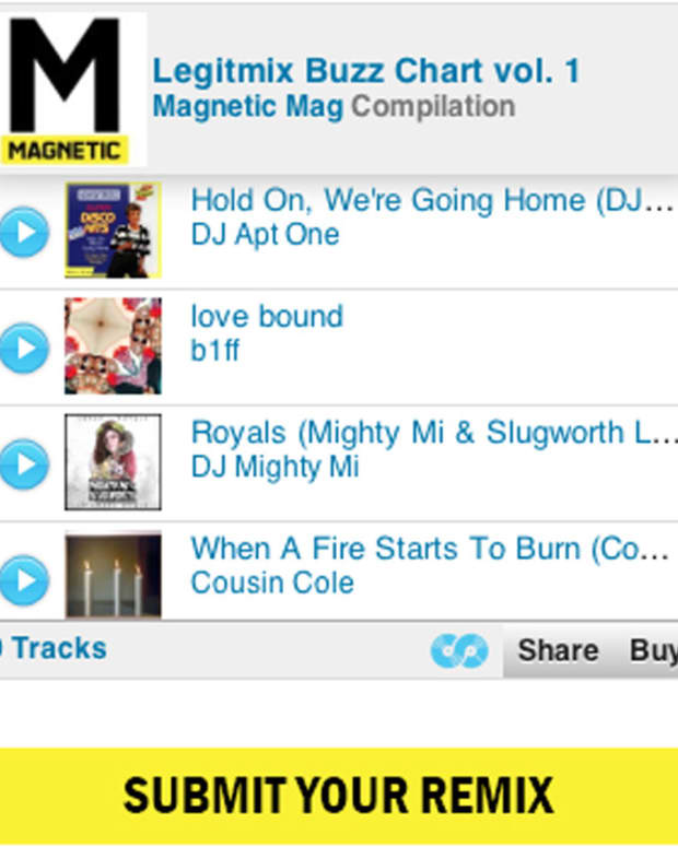 EDM News: Magnetic x Legitmix Buzz Chart, Submit Your Remix Now...