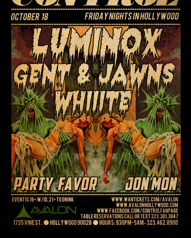 EDM Culture: Luminox, Whiiite, Gents & Jaws, Party Favor And JonMon At Control Inside The Avalon
