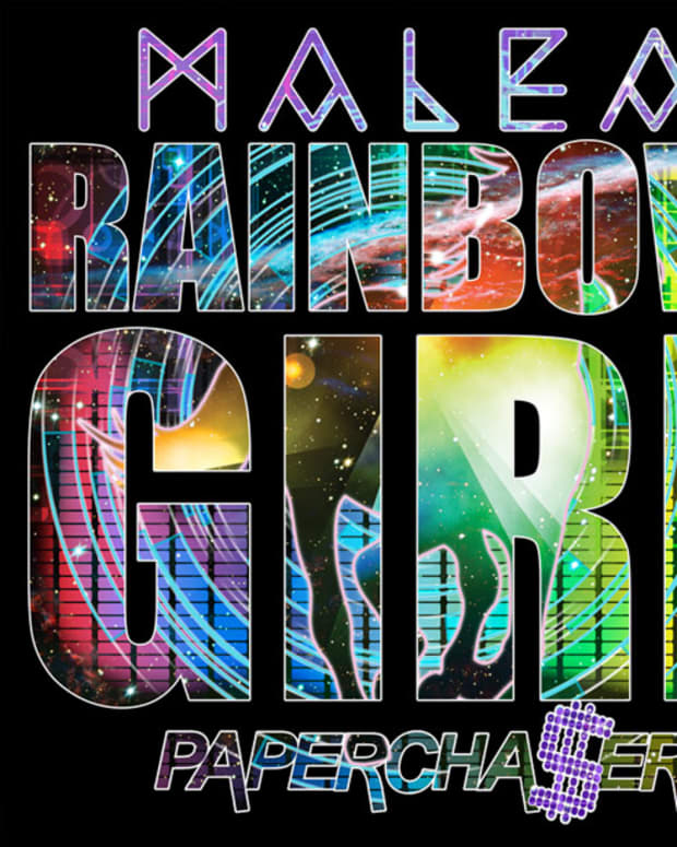 "Exclusive Premier: Malea ""Rainbow Girl"" (Papercha$er Remix) - New Electronic Music"