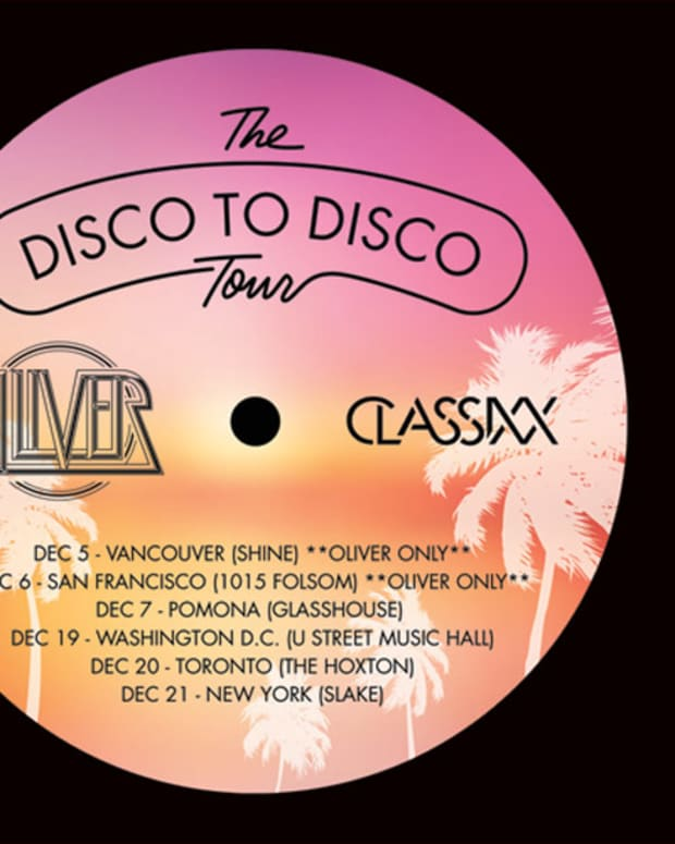 EDM Culture: Classixx And Oliver Announce Disco To Disco Tour