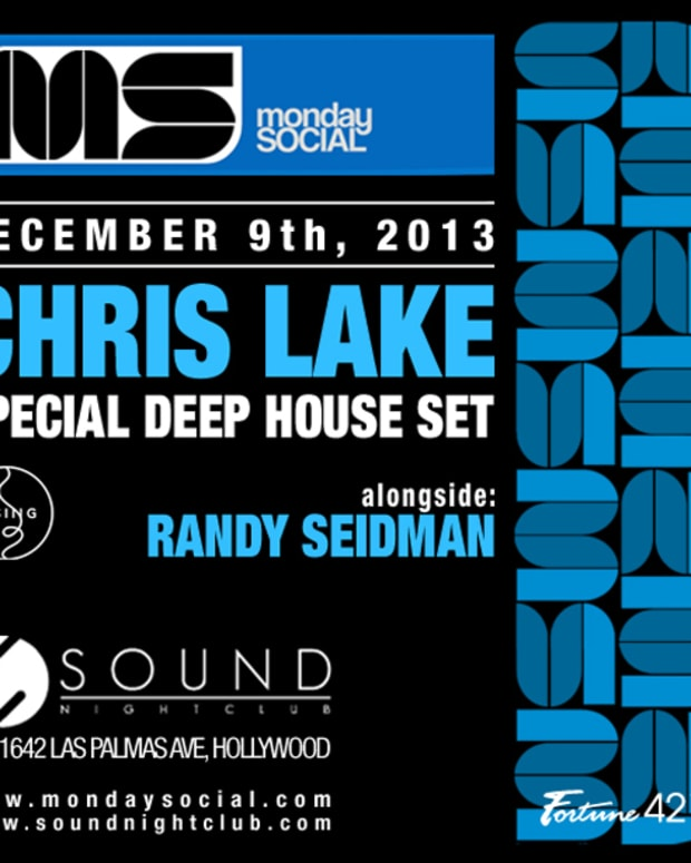 Monday Social Tonight With A Deep House Set From Chris Lake - EDM News