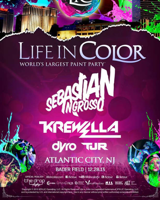 Contest - Win Tickets To Life In Color Atlantic City 12/28