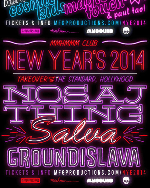 New Years Eve At The Standard Hollywood Featuring Escort, Nosaj Thing, Cosmic Kids, Salva & More - EDM News