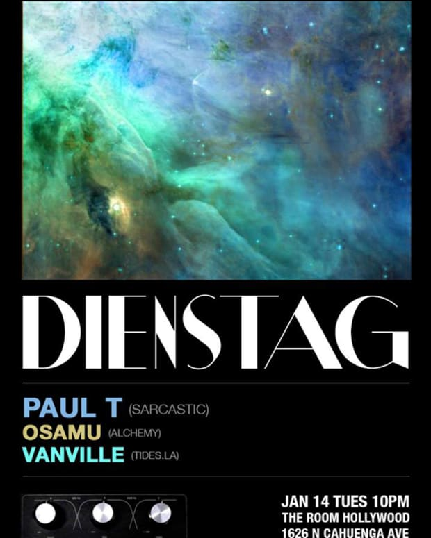 Dienstag // Tuesday Pop-Up Party // Jan. 14th With Paul T, Osamu & VanVille